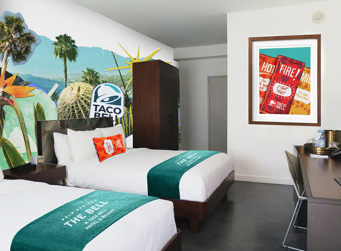 Taco Bell hotel reservations sell out in 2 minutes