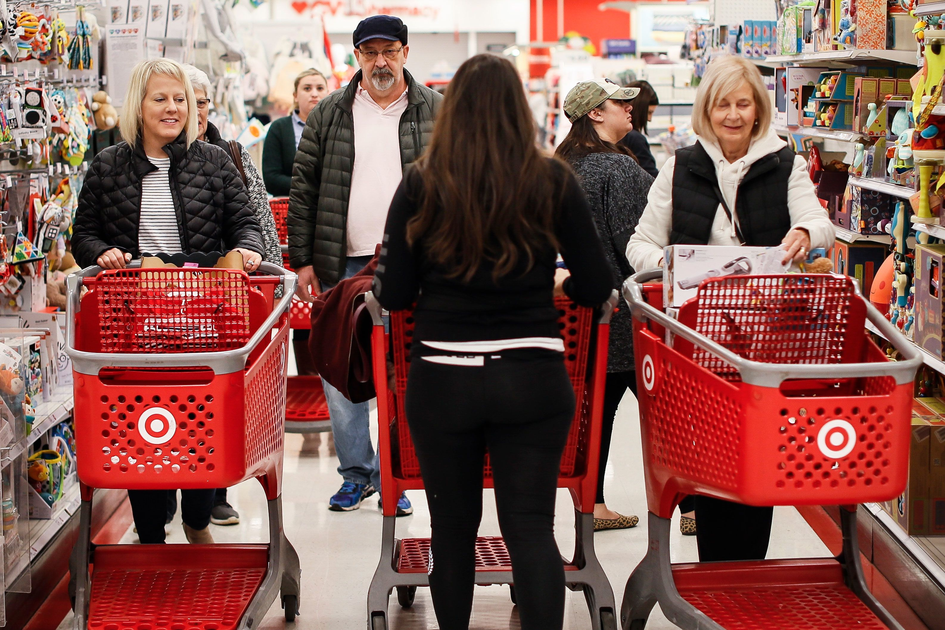 Target customers report issues checking out for second day after weekend outage