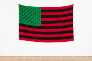 The Broad Acquires David Hammons 'African-American Flag,' 50-Foot-Long Mark Bradford Work -ARTnews