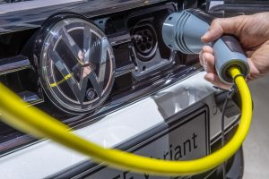 VW's Electrify America to build more EV chargers at Walmart stores