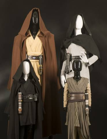 You can buy Jedi robes at Star Wars Galaxy's Edge, but can't wear them