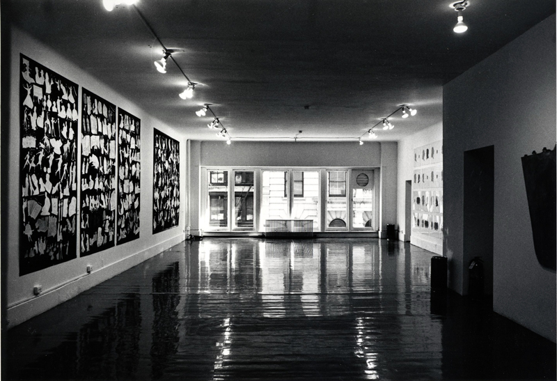 """Installation view of """"Pictures,"""" 1977, at Artists Space, New York. ©D. JAMES DEE/COURTESY ARTISTS SPACE, NEW YORK"""