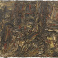 Leon Kossoff, 'Shell Building Site,' 1962, oil on board