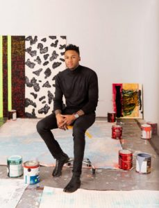 Almine Rech Now Represents Closely Watched Painter Vaughn Spann -ARTnews