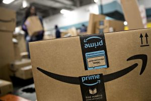 Amazon Prime ships cardboard boxes from Westrock, International Paper