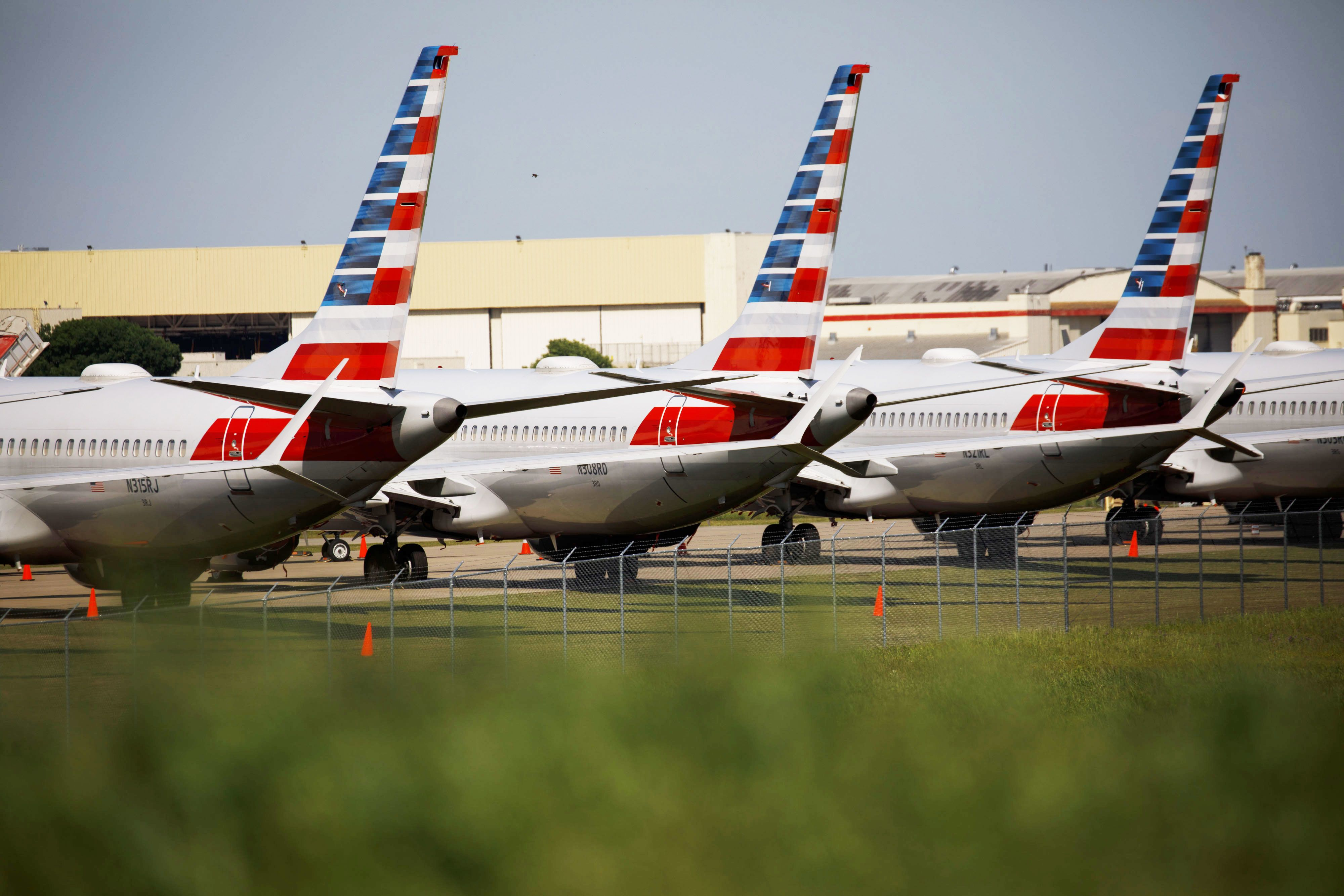 American Airlines removes Boeing 737 Max from schedules through Nov. 2