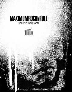As 'Maximum Rocknroll' Ends Print Run, Artists and Writers Reflect on the Punk Zine's Legacy -ARTnews