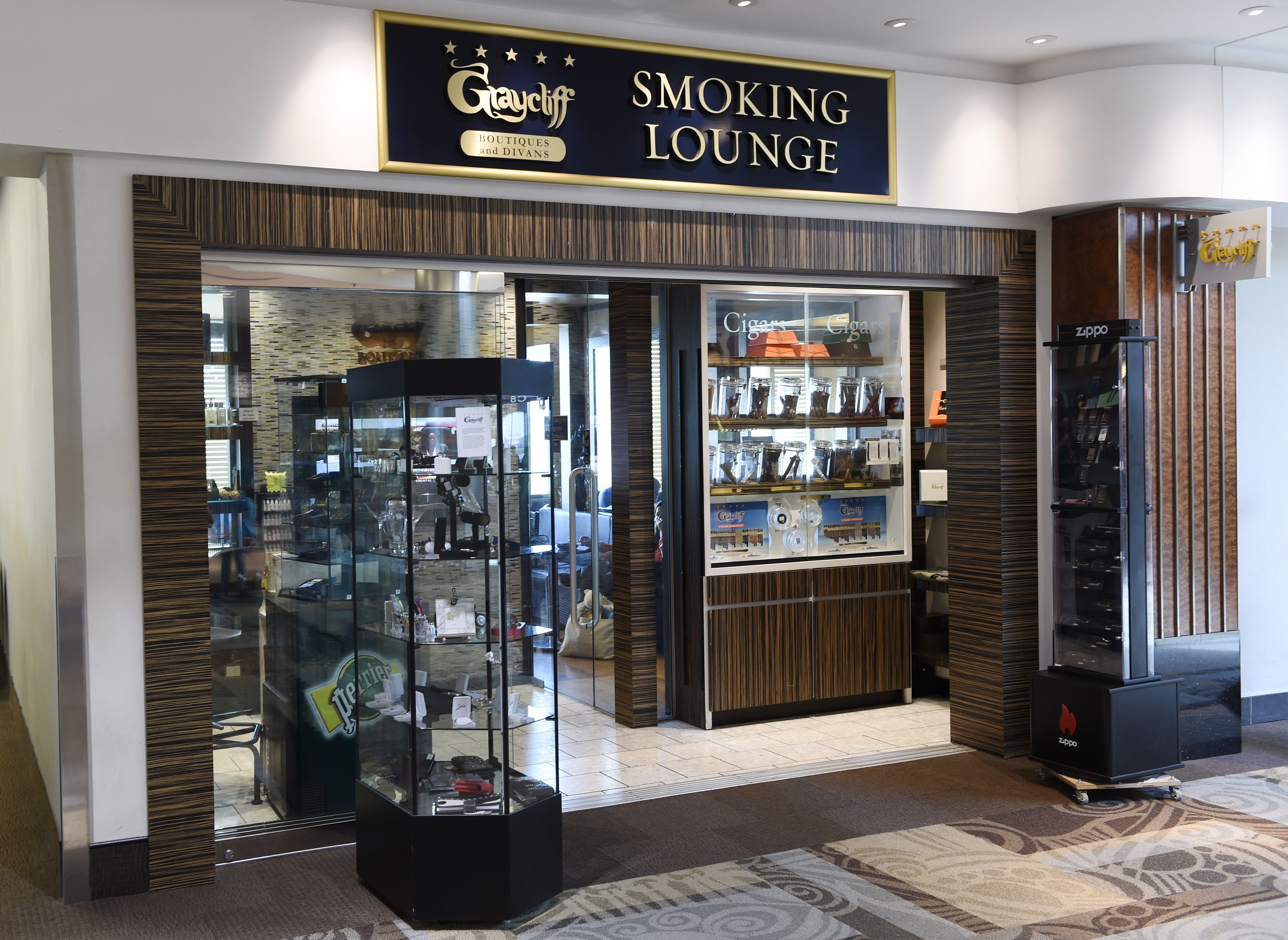 Atlanta's airport to ban smoking as places to light up get harder to find