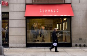 Barneys explores possible July bankruptcy filing, grapples with Manhattan rent hike