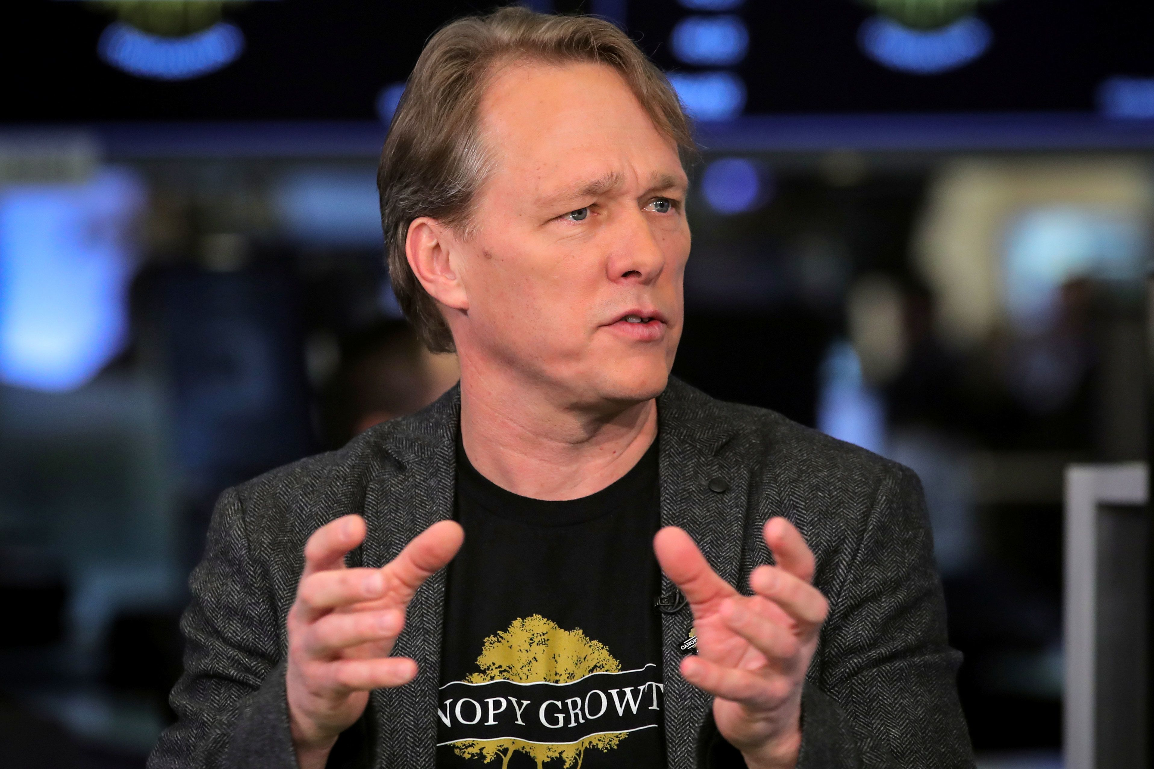Bruce Linton says he was fired at co-CEO of Canopy Growth