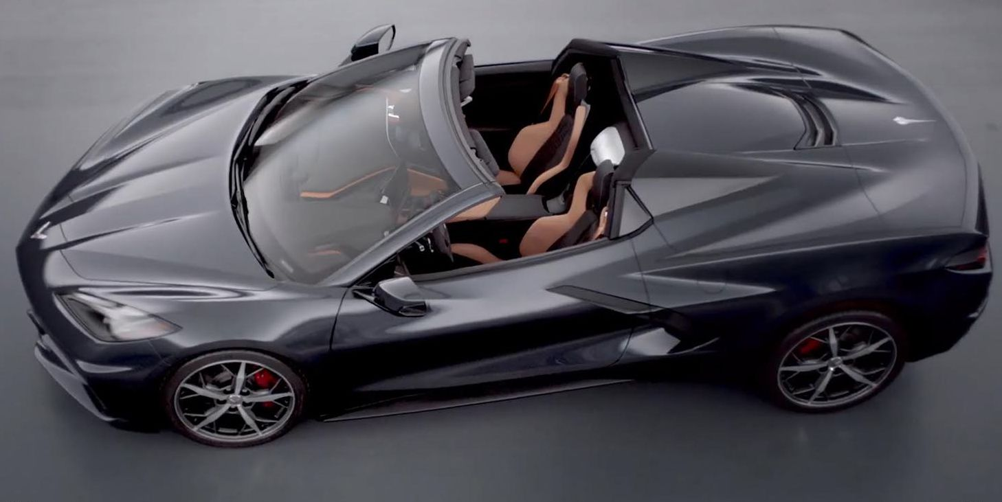 Chevy uncovers new Corvette Convertible – and race version of Stingray