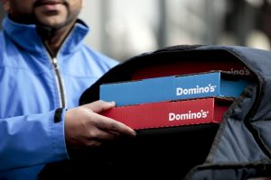 Domino's Pizza faces new threat from delivery apps like UberEats, Doordash