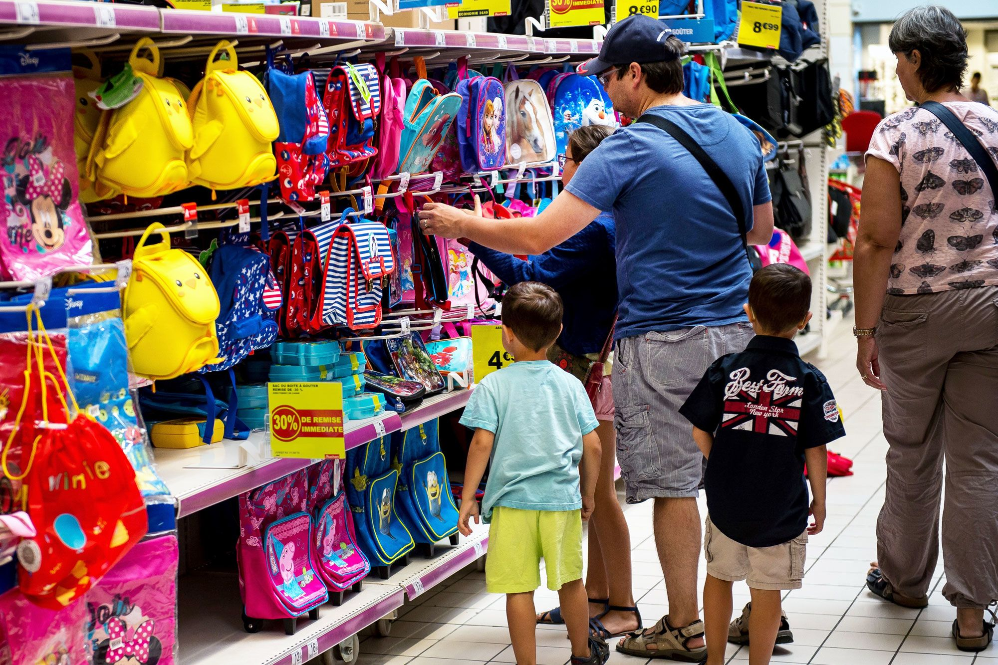 Don't expect back-to-school spending to give retailers a lift