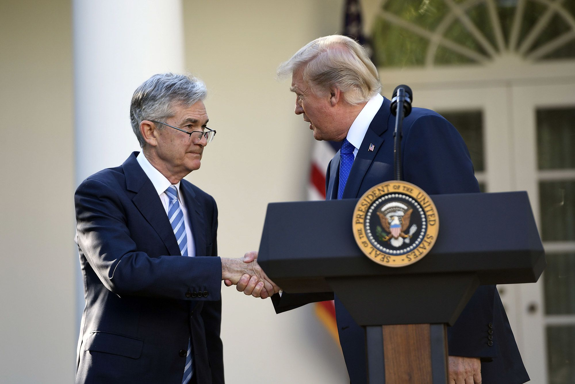 Fed chief Powell has had multiple short phone calls with Trump in 2019