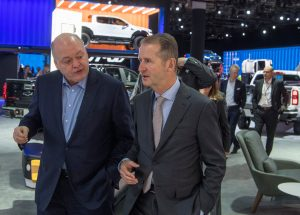 Ford, VW confirm plan to collaborate on autonomous, electric vehicles