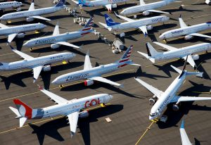 GE warns of cash flow hit from grounded Boeing 737 Max