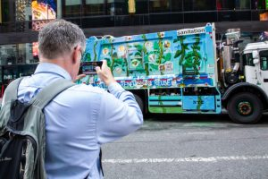 Hand-Painted Garbage Trucks Launched by the New York City Department of Sanitation -ARTnews
