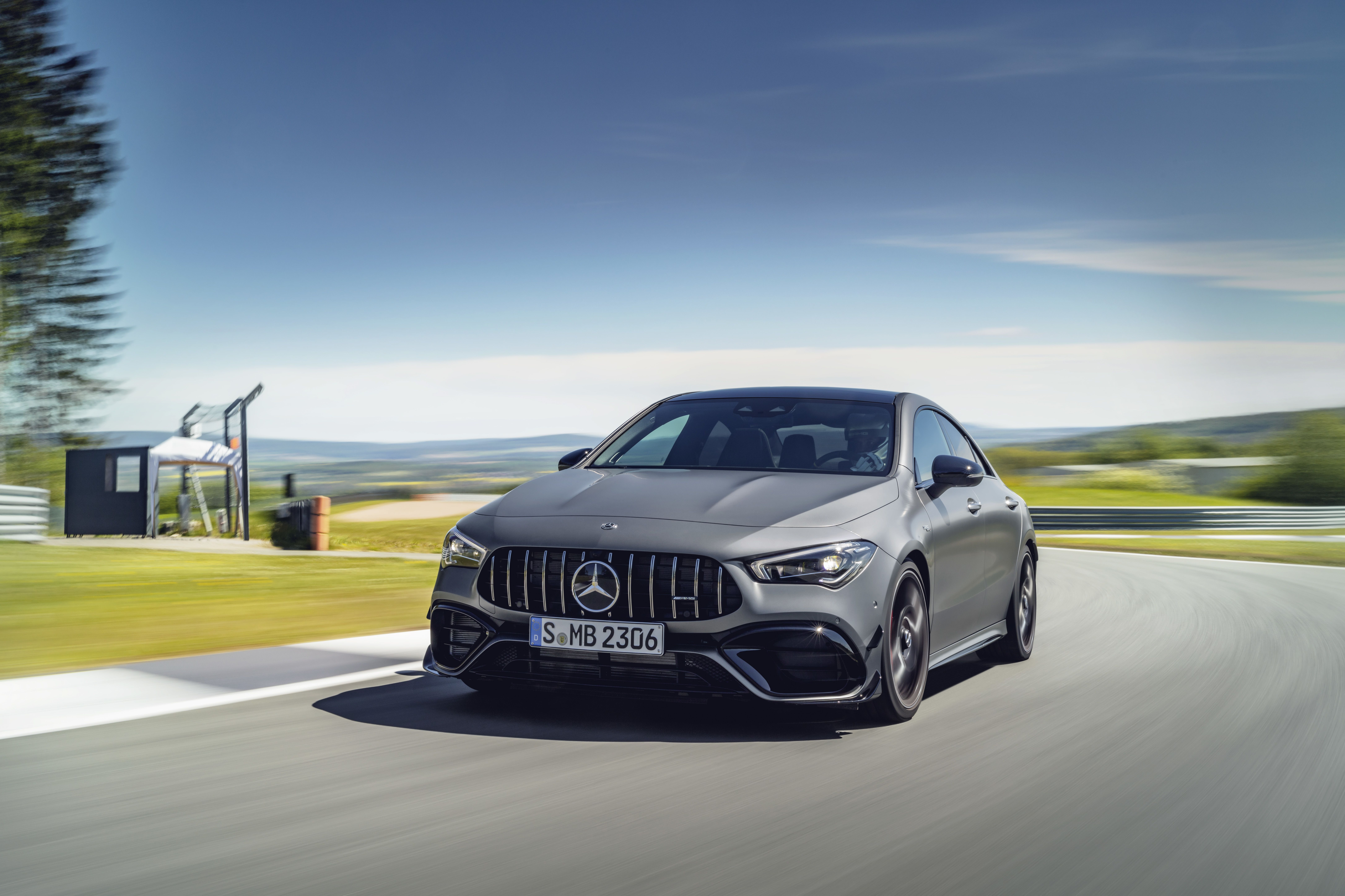Mercedes muscles up with debut of AMG-powered CLA 45 sedan