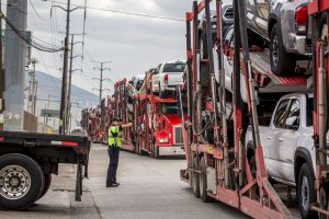 Mexican-made autos stream across border at record rate in first half