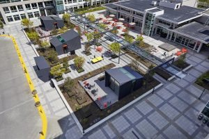 Microsoft freshens up campus buildings with history and modernity