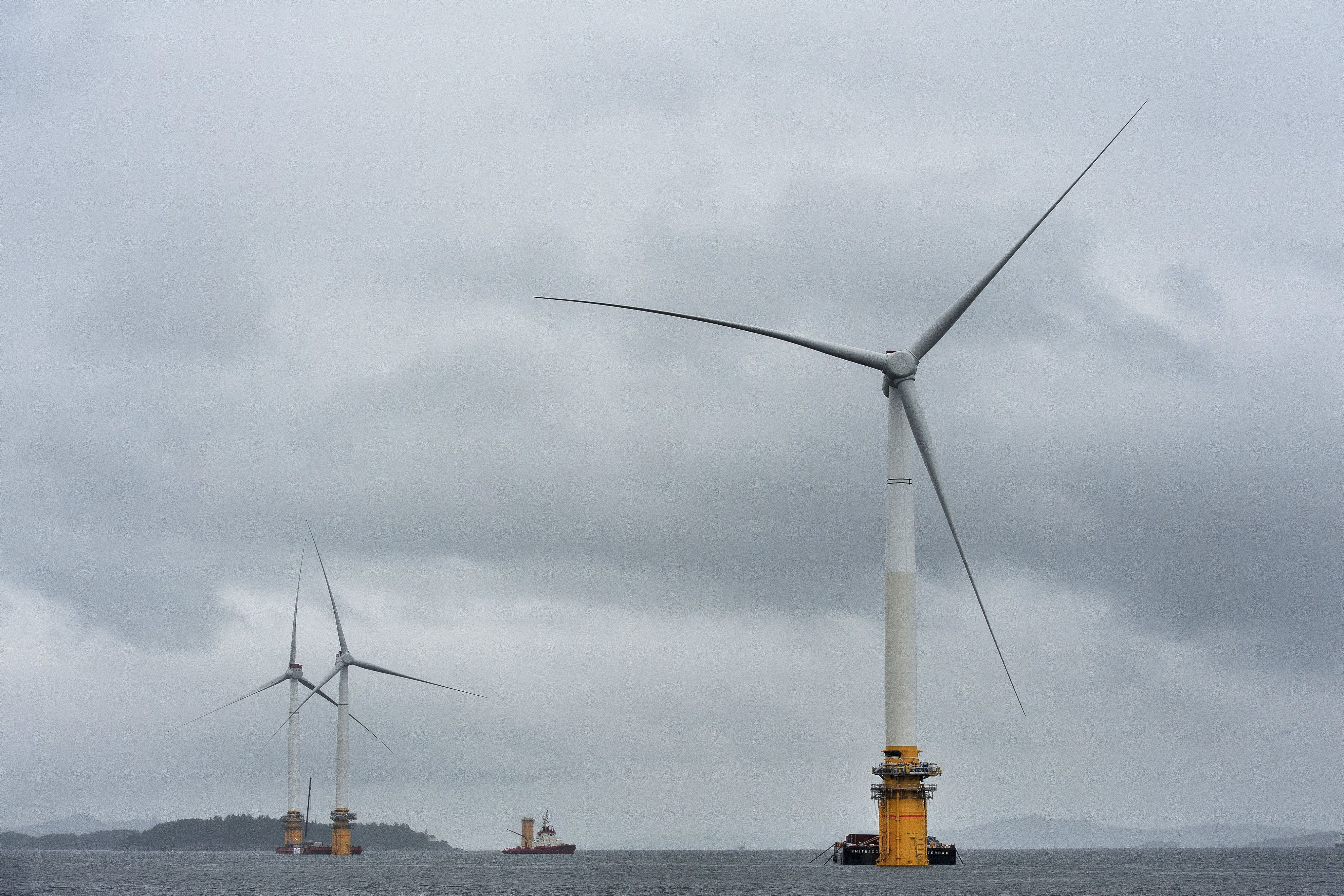 South Korea could soon be home to planet's largest floating wind farm