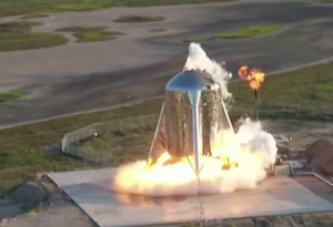 SpaceX aborts first short Starship prototype rocket hop flight