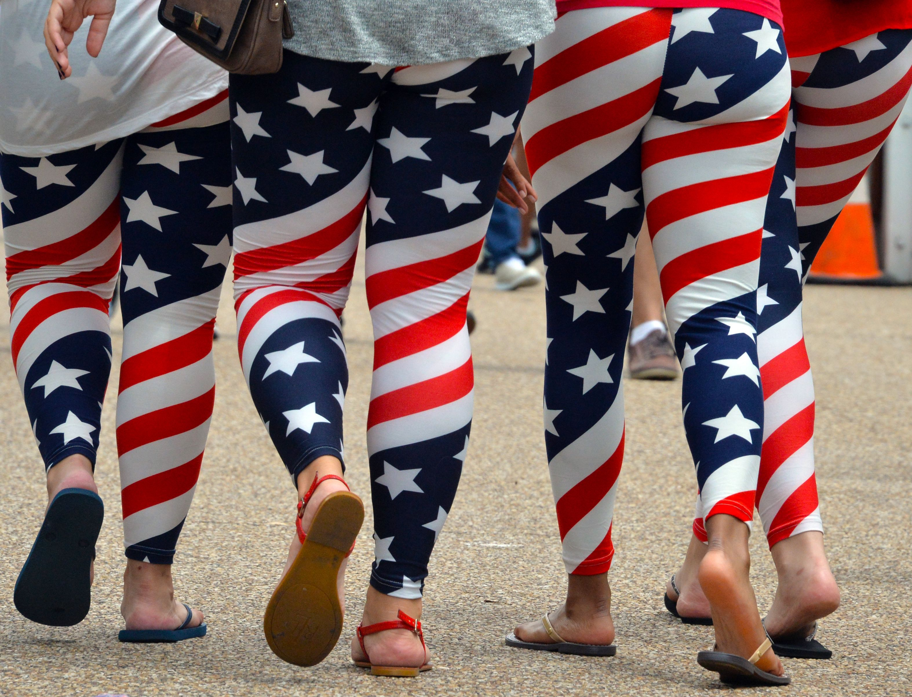 The flag shirt you're buying for July 4th is technically illegal