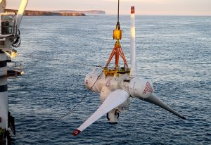 Tidal power project smashes record in waters off Scottish coast