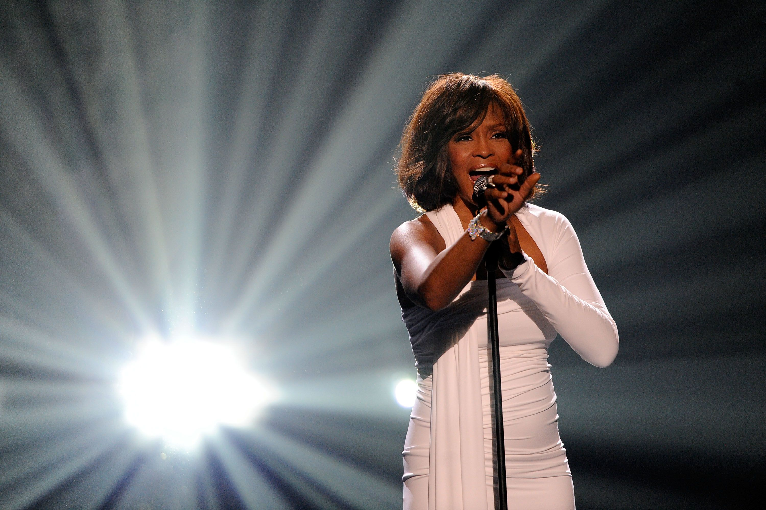 Whitney Houston died in 2012. Next year you can see her hologram perform