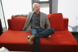 Amazon CEO Bezos sells roughly $2.8 billion worth of stock in a week