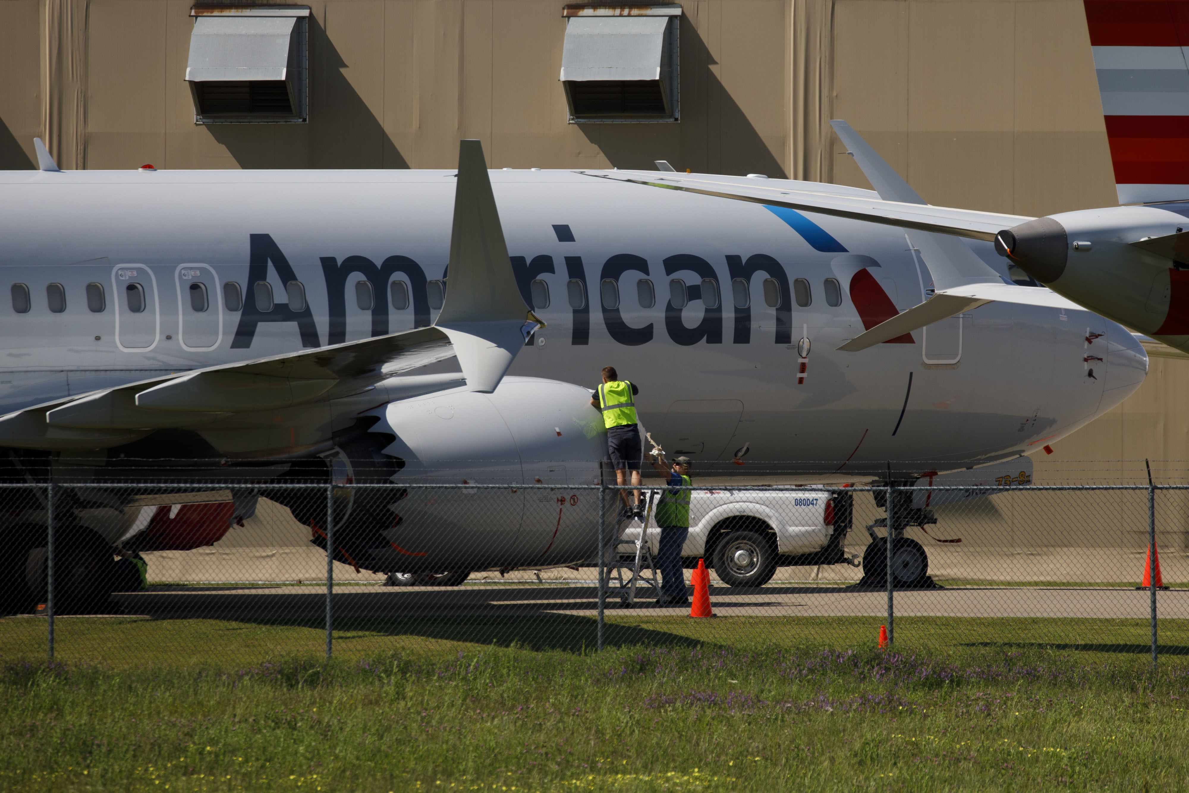 Boeing hiring hundreds of workers to maintain parked 737 Max planes