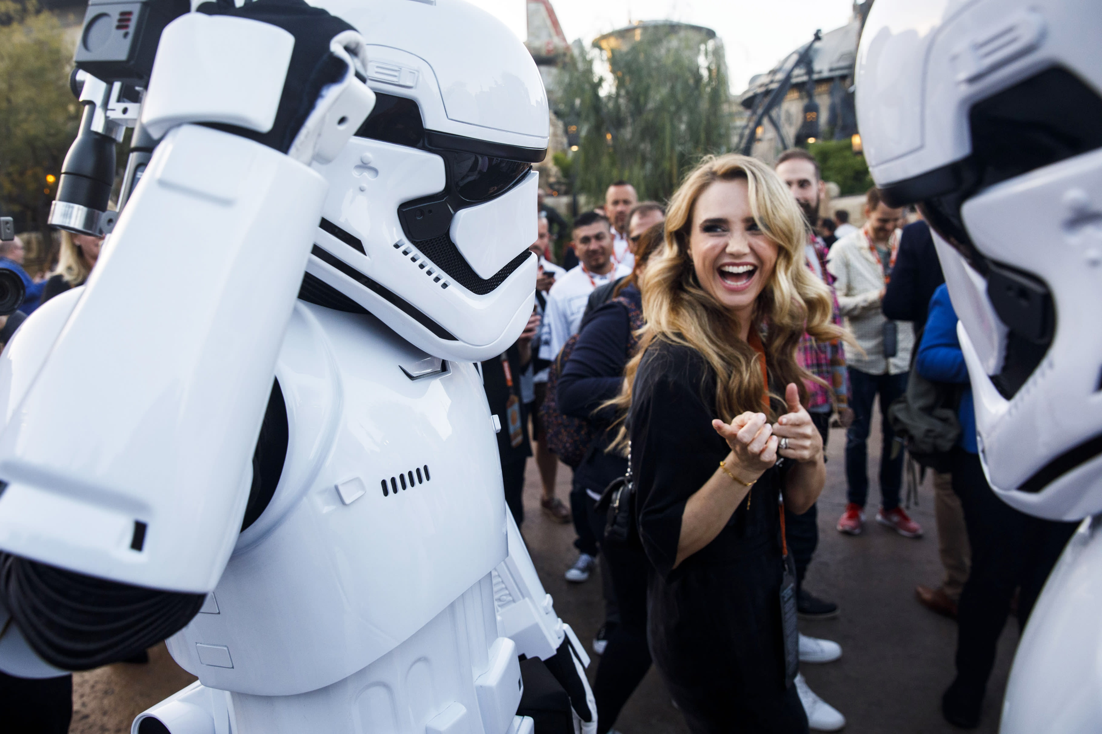 Disney says lower foot traffic at Galaxy's Edge's was intentional