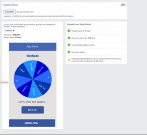 Facebook launches tool to test, preview Playable Ads