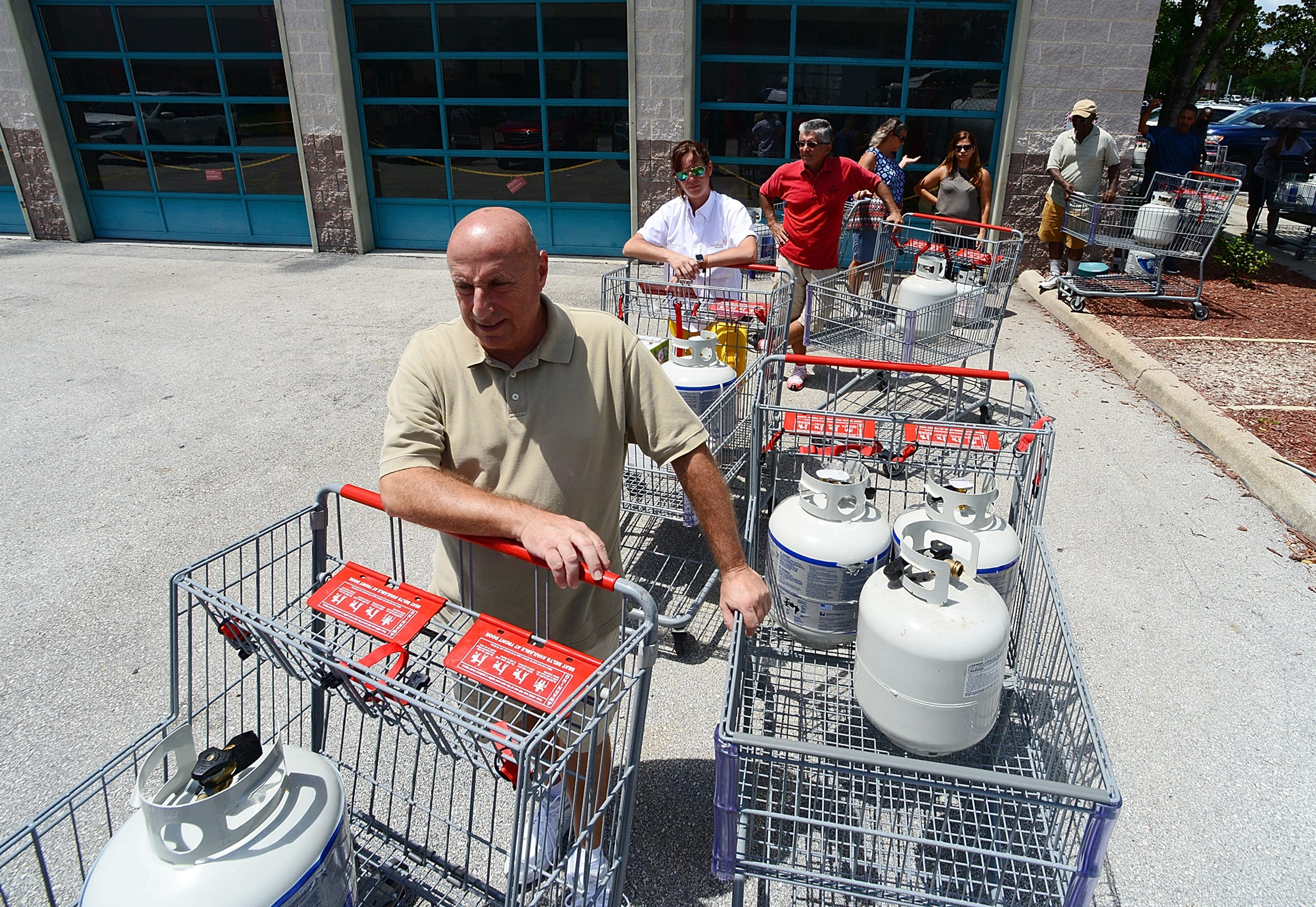 Hurricane Dorian has Florida residents scrambling for gas and water
