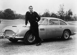 James Bond's Aston Martin DB5 sells for $6.4 million at Pebble Beach