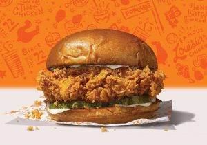 Popeyes is launching its first chicken sandwich nationwide