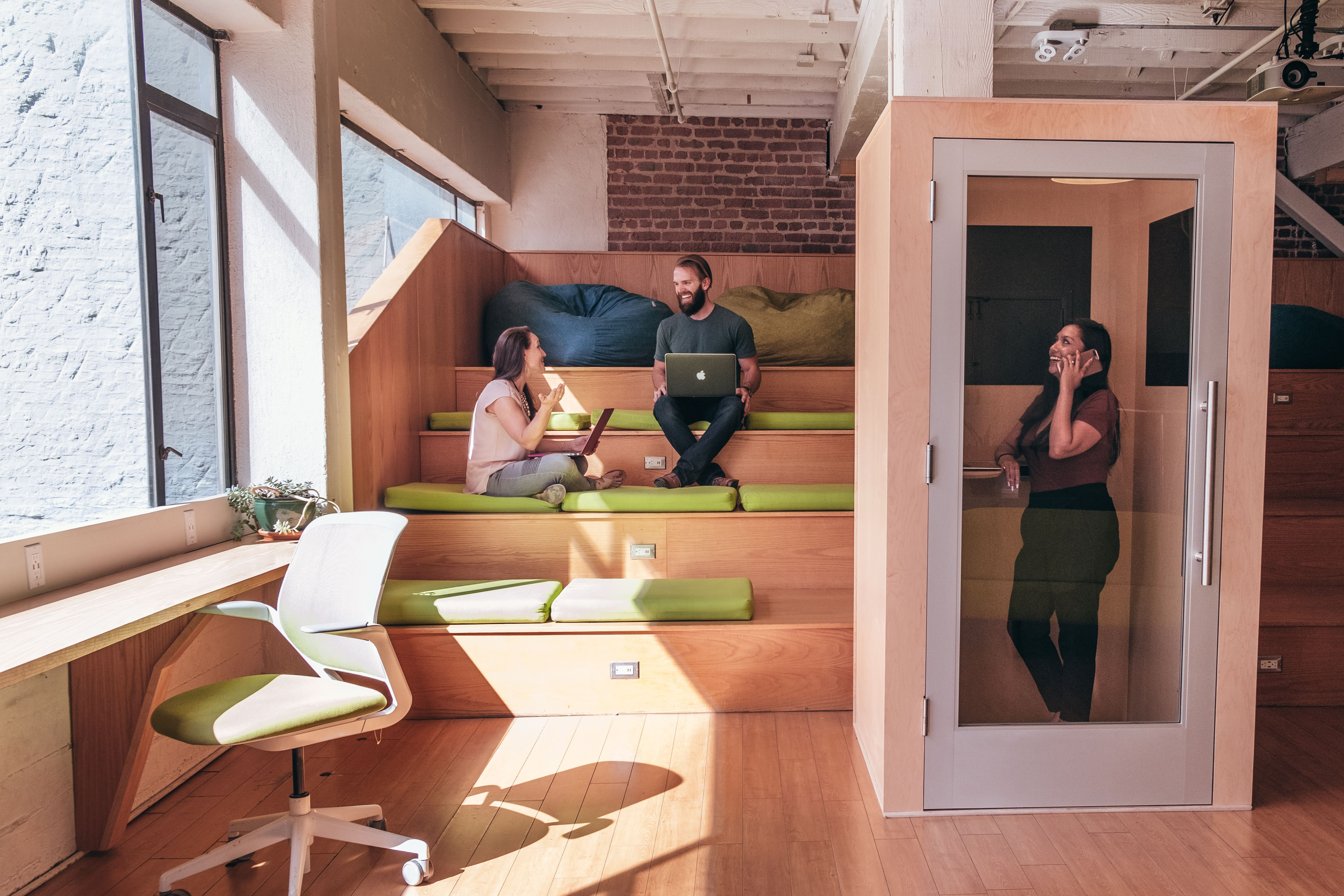 The often-hated open floor plan gets a new savior: The office pod