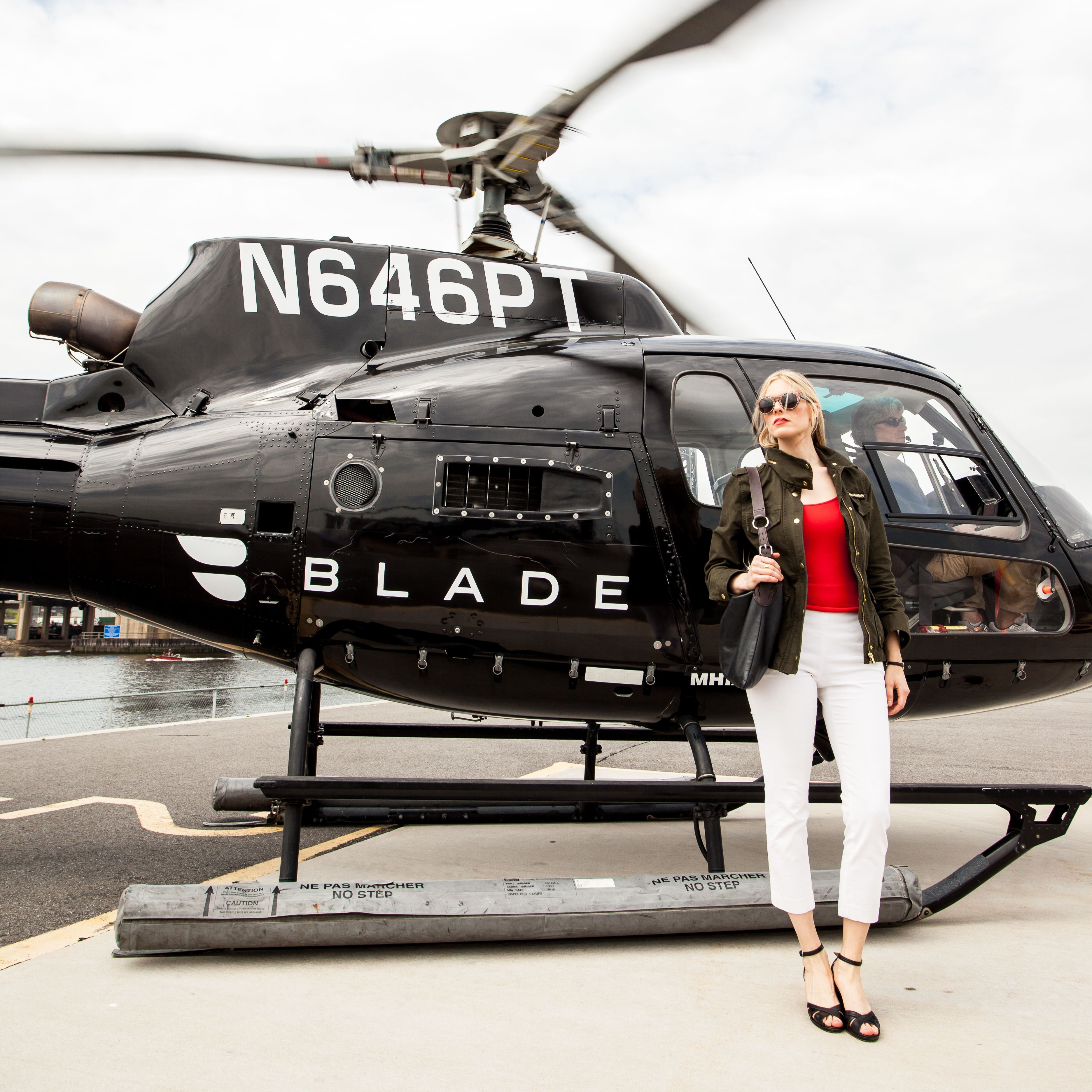 The race between Lyft, Uber Copter, Blade helicopter to JFK airport