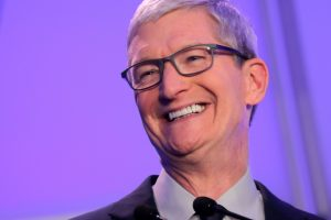 Tim Cook donates nearly $5 million of Apple shares to charity