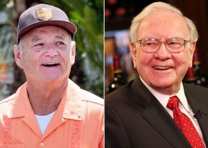 Warren Buffett and Bill Murray hung out and told jokes
