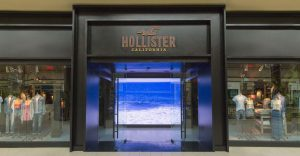 A smaller Hollister store will open in New York at Herald Square