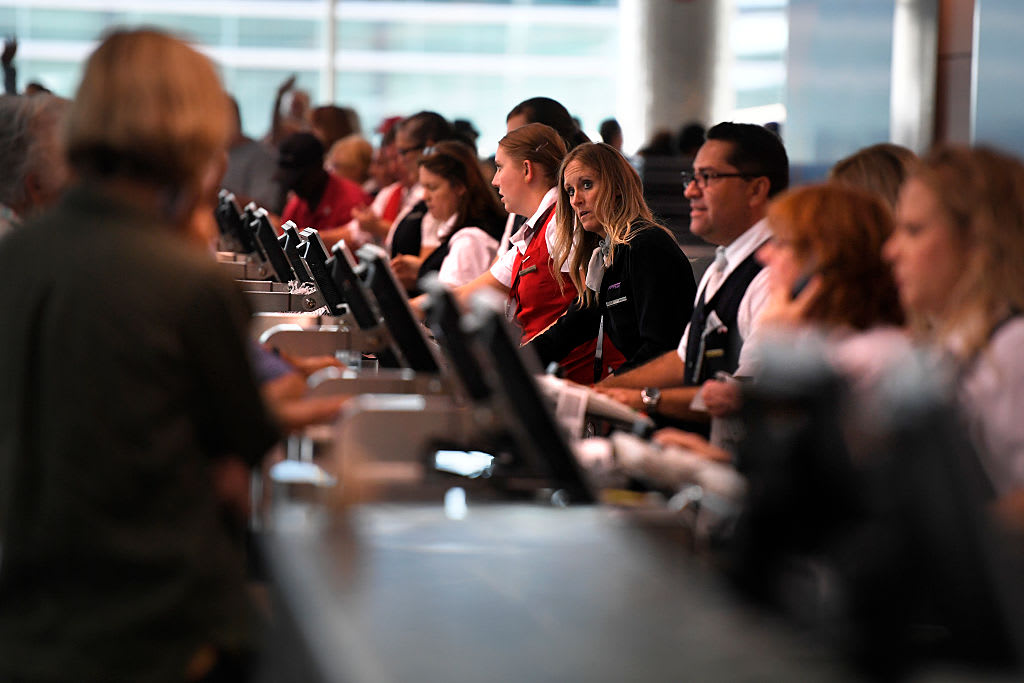 Airline customer service agents subject to threats, harassment, assault