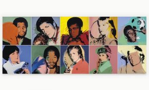 Andy Warhol's Portraits of Athletes to Hit the Block at Christie's this November -ARTnews