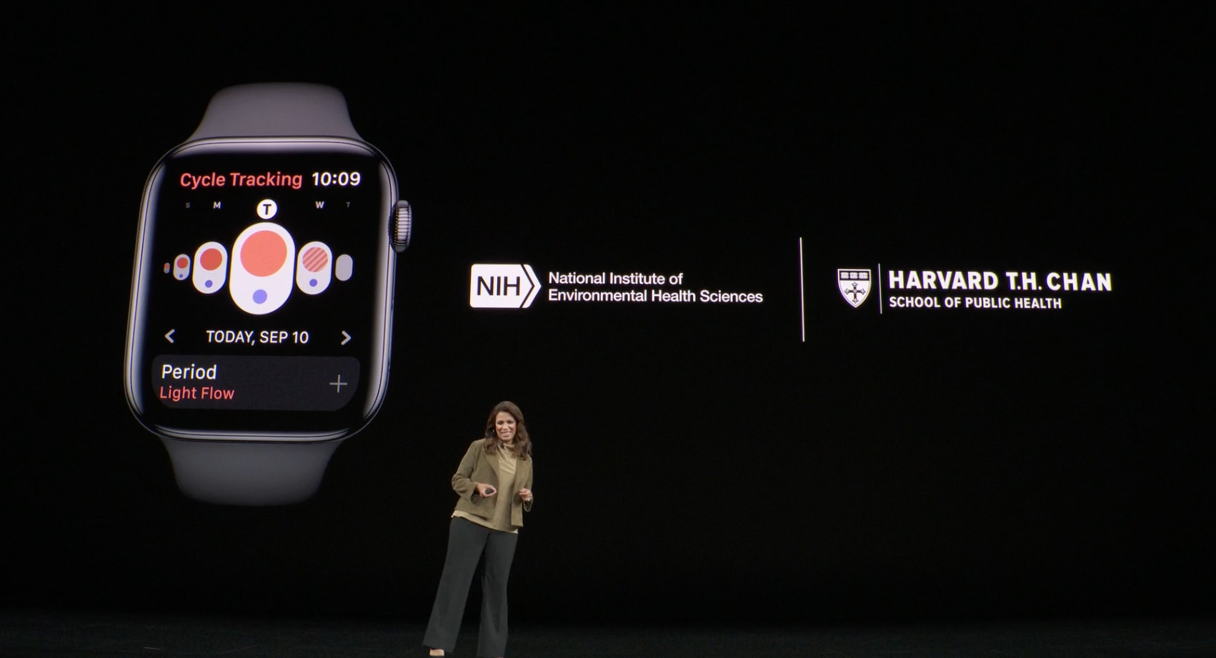 Apple medical studies: women's health, hearing, mobility