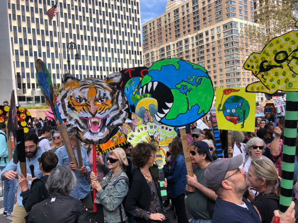 Artists in 'We Make America' Collective Join Climate Strike -ARTnews