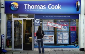 British travel firm Thomas Cook collapses, stranding travelers