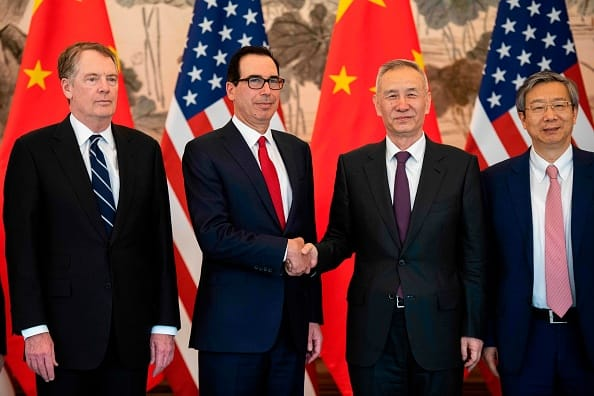 Dow futures jump as China and US agree to meet for trade talks