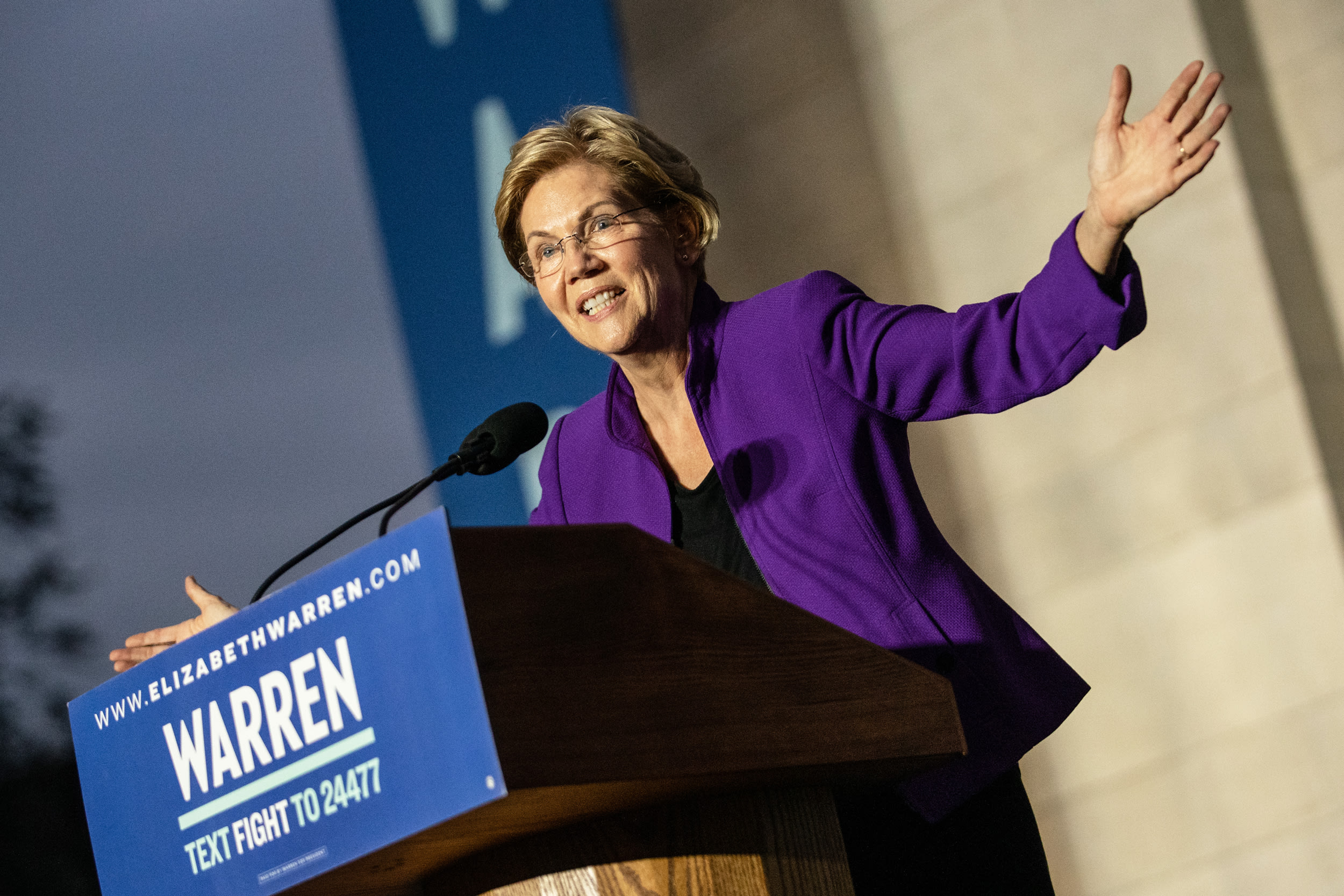 Elizabeth Warren's wealth tax may include a $1 million marriage penalty