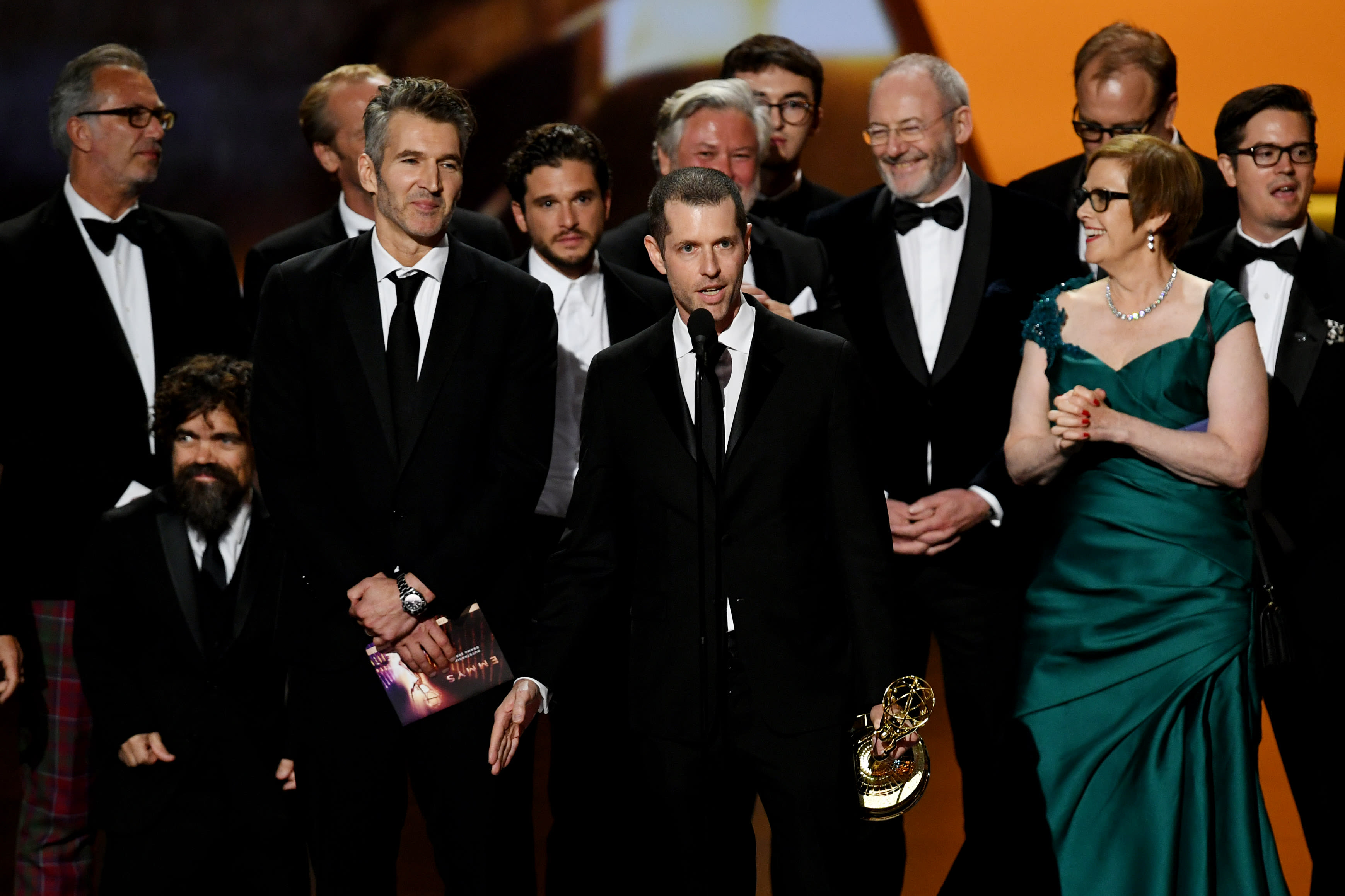 'Game of Thrones' ends run with best drama award, 59 total Emmy Awards