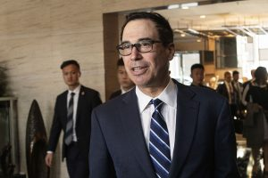 Mnuchin says Trump could do a China trade pact at anytime, but wants a 'good' deal for US workers